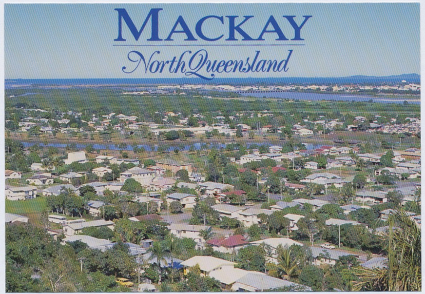 Panoramic view of Mackay from Rotary Lookout | Queensland Places
