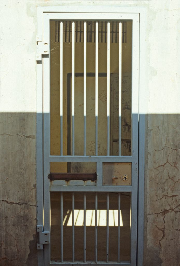 Jail cell door Normanton & Jail cell door Normanton   Queensland Places