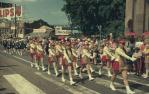 "<span class=""caption-caption"">Warana parade outside the Customs House, Brisbane</span>, c1970. <br />Slide, collection of <span class=""caption-contributor"">Robin Barron</span>."