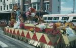 "<span class=""caption-caption"">Save me one dozen roses float, Warana parade, Brisbane</span>, c1970. <br />Slide, collection of <span class=""caption-contributor"">Robin Barron</span>."