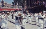 "<span class=""caption-caption"">Warana festival outside City Hall, Brisbane</span>, c1970. <br />Slide, collection of <span class=""caption-contributor"">Robin Barron</span>."
