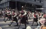 "<span class=""caption-caption"">Marching band, Warana festival, Brisbane</span>, c1970. <br />Slide, collection of <span class=""caption-contributor"">Robin Barron</span>."