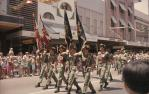"<span class=""caption-caption"">Military parade, Brisbane</span>, c1970. <br />Slide, collection of <span class=""caption-contributor"">Robin Barron</span>."