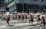 "<span class=""caption-caption"">Grand parade, marching band, Warana Spring Festival, Brisbane</span>, c1970. <br />Slide, collection of <span class=""caption-contributor"">Robin Barron</span>."
