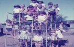 "<span class=""caption-caption"">Children at the new Hughenden kindergarten</span>, 1965. <br />Slide, collection of <span class=""caption-contributor"">Colleen Murdoch</span>."
