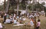 "<span class=""caption-caption"">Watching the races at the Bamaga show</span>, 1968. <br />Slide, collection of <span class=""caption-contributor"">Warwick Willmott</span>."