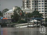 "<span class=""caption-caption"">Flood waters damage Regatta Ferry Terminal, Toowong, January 2011</span>. <br />Digital image, collection of <span class=""caption-contributor"">Liz Jordan</span>."