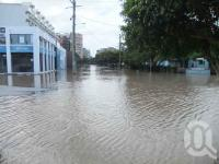 "<span class=""caption-caption"">Rising flood waters, Montague Road, West End, January 2011</span>. <br />Digital image, collection of <span class=""caption-contributor"">Liz Jordan</span>."