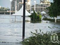 "<span class=""caption-caption"">South Bank and parklands in flood, January 2011</span>. <br />Digital image, collection of <span class=""caption-contributor"">Liz Jordan</span>."