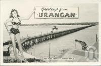 "<span class=""caption-caption"">Greetings from Urangan</span>, 1958. <br />Postcard, collection of <span class=""caption-contributor"">John Young</span>."