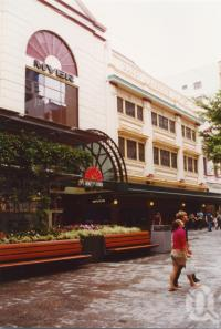 "<span class=""caption-caption"">Myer and Barry & Roberts, Queen Street, Brisbane</span>, 2003. <br />Photograph, collection of <span class=""caption-contributor"">John Young</span>."