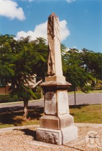 "<span class=""caption-caption"">Yandina war memorial</span>, 2003. <br />Photograph, collection of <span class=""caption-contributor"">John Young</span>."