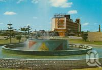 "<span class=""caption-caption"">Broadbeach Fountain</span>, c1970. <br />Postcard by <span class=""caption-publisher"">Murray Views Pty Ltd</span>, collection of <span class=""caption-contributor"">Centre for the Government of Queensland</span>."