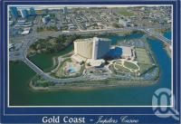 "<span class=""caption-caption"">Gold Coast Jupiters Casino</span>, 1992. <br />Postcard by <span class=""caption-publisher"">Nu-Color-Vue</span>, collection of <span class=""caption-contributor"">Centre for the Government of Queensland</span>."