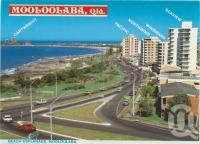 "<span class=""caption-caption"">Beach Esplanade, Mooloolaba</span>, c1984. <br />Postcard folder by <span class=""caption-publisher"">Wren Souvenirs</span>, collection of <span class=""caption-contributor"">Centre for the Government of Queensland</span>."