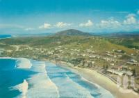 "<span class=""caption-caption"">Coolum Beach</span>, c1960. <br />Postcard by <span class=""caption-publisher"">Murray Views Pty Ltd</span>, collection of <span class=""caption-contributor"">Centre for the Government of Queensland</span>."