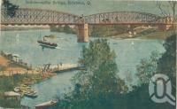 "<span class=""caption-caption"">Indooroopilly bridge</span>, c1910. <br />Postcard by <span class=""caption-publisher"">White's views</span>, collection of <span class=""caption-contributor"">Centre for the Government of Queensland</span>."