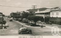 """<span class=""""caption-caption"""">Shields Street, Cairns</span>, c1950. <br />Postcard by <span class=""""caption-publisher"""">Murray Views Pty Ltd</span>, collection of <span class=""""caption-contributor"""">Centre for the Government of Queensland</span>."""