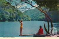 """<span class=""""caption-caption"""">Lake Placid, Cairns</span>, c1964. <br />Postcard folder by <span class=""""caption-publisher"""">John Sands Pty Ltd</span>, collection of <span class=""""caption-contributor"""">Centre for the Government of Queensland</span>."""