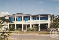"""<span class=""""caption-caption"""">The Silver Palm Guest House, Esplanade Cairns</span>, c1970. <br />Postcard by <span class=""""caption-publisher"""">GK Bolton</span>, collection of <span class=""""caption-contributor"""">Centre for the Government of Queensland</span>."""