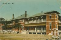 """<span class=""""caption-caption"""">Hospital Cairns</span>, c1911. <br />Postcard by <span class=""""caption-publisher"""">Owen Whittick</span>, collection of <span class=""""caption-contributor"""">Centre for the Government of Queensland</span>."""