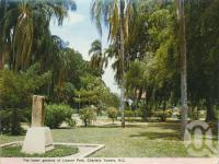 "<span class=""caption-caption"">Lissner Park, Charters Towers</span>, c1972. <br />Postcard folder by <span class=""caption-publisher"">Murray Views Pty Ltd</span>, collection of <span class=""caption-contributor"">Centre for the Government of Queensland</span>."