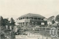 "<span class=""caption-caption"">Club Hotel, Maroochydore</span>, c1930. <br />Postcard folder by <span class=""caption-publisher"">Unknown Publisher</span>, collection of <span class=""caption-contributor"">Centre for the Government of Queensland</span>."