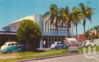 "<span class=""caption-caption"">Hotel Maroochydore</span>, c1960. <br />Postcard by <span class=""caption-publisher"">Murray Views Pty Ltd</span>, collection of <span class=""caption-contributor"">Centre for the Government of Queensland</span>."