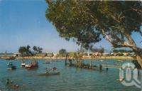 "<span class=""caption-caption"">Water sports and bathing area, Cotton Tree, Maroochydore</span>, 1961. <br />Postcard by <span class=""caption-publisher"">Murray Views Pty Ltd</span>, collection of <span class=""caption-contributor"">Centre for the Government of Queensland</span>."