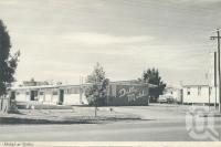 "<span class=""caption-caption"">Dalby Motel</span>, 1972. <br />Postcard folder by <span class=""caption-publisher"">Samuel Lee & Co Pty Ltd</span>, collection of <span class=""caption-contributor"">Centre for the Government of Queensland</span>."