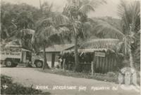 "<span class=""caption-caption"">Kiosk, Horseshoe Bay, Magnetic Island</span>, c1935. <br />Postcard folder by <span class=""caption-publisher"">Willmetts</span>, collection of <span class=""caption-contributor"">Centre for the Government of Queensland</span>."