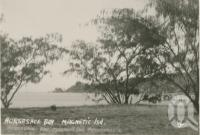 "<span class=""caption-caption"">Magnetic Island</span>, c1935. <br />Postcard folder by <span class=""caption-publisher"">Willmetts</span>, collection of <span class=""caption-contributor"">Centre for the Government of Queensland</span>."