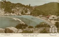 "<span class=""caption-caption"">Bathing beach, Alma Bay, Magnetic Island</span>, c1938. <br />Postcard by <span class=""caption-publisher"">Sidues Series</span>, collection of <span class=""caption-contributor"">Centre for the Government of Queensland</span>."