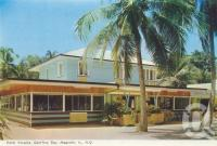 "<span class=""caption-caption"">Hotel Arcadia, Geoffrey Bay, Magnetic Island</span>, c1980. <br />Postcard folder by <span class=""caption-publisher"">Murray Views Pty Ltd</span>, collection of <span class=""caption-contributor"">Centre for the Government of Queensland</span>."