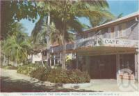 "<span class=""caption-caption"">Tropical gardens, The Esplanade, Picnic Bay, Magnetic Island</span>, c1960. <br />Postcard folder by <span class=""caption-publisher"">Murray Studios Pty Ltd</span>, collection of <span class=""caption-contributor"">Centre for the Government of Queensland</span>."