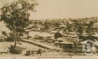 "<span class=""caption-caption"">View from Calton Terrace, showing Gympie</span>, c1930. <br />Postcard by <span class=""caption-publisher"">Unknown Publisher</span>, collection of <span class=""caption-contributor"">Centre for the Government of Queensland</span>."