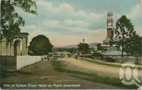 "<span class=""caption-caption"">View of Gympie (Court House on right)</span>, c1910. <br />Postcard by <span class=""caption-publisher"">Shell Series</span>, collection of <span class=""caption-contributor"">Centre for the Government of Queensland</span>."
