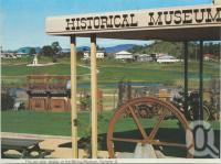 "<span class=""caption-caption"">Mining Museum, Gympie</span>, c1980. <br />Postcard folder by <span class=""caption-publisher"">Murray Views Pty Ltd</span>, collection of <span class=""caption-contributor"">Centre for the Government of Queensland</span>."