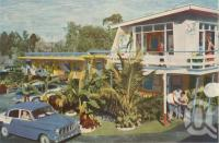 "<span class=""caption-caption"">Reef Tropical Motel, The Esplanade, Hervey Bay</span>, 1962. <br />Postcard by <span class=""caption-publisher"">Unknown Publisher</span>, collection of <span class=""caption-contributor"">Centre for the Government of Queensland</span>."