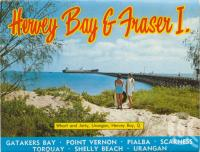 "<span class=""caption-caption"">Wharf and jetty, Urangan, Hervey Bay</span>, c1970. <br />Postcard folder by <span class=""caption-publisher"">Murray Views Pty Ltd</span>, collection of <span class=""caption-contributor"">Centre for the Government of Queensland</span>."