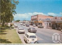 "<span class=""caption-caption"">Torquay shopping centre, Hervey Bay</span>, c1970. <br />Postcard folder by <span class=""caption-publisher"">Murray Views Pty Ltd</span>, collection of <span class=""caption-contributor"">Centre for the Government of Queensland</span>."