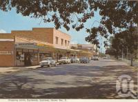 "<span class=""caption-caption"">Shopping centre, Scarness, Hervey Bay</span>, c1970. <br />Postcard folder by <span class=""caption-publisher"">Murray Views Pty Ltd</span>, collection of <span class=""caption-contributor"">Centre for the Government of Queensland</span>."