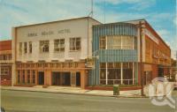 "<span class=""caption-caption"">Kirra Beach Hotel, Kirra Beach, Coolangatta</span>, c1960. <br />Postcard by <span class=""caption-publisher"">Murray Views Pty Ltd</span>, collection of <span class=""caption-contributor"">Centre for the Government of Queensland</span>."