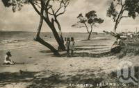 "<span class=""caption-caption"">Cribb Island</span>, 1956. <br />Postcard by <span class=""caption-publisher"">Unknown Publisher</span>, collection of <span class=""caption-contributor"">John Young</span>."