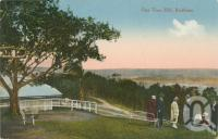 "<span class=""caption-caption"">One Tree Hill, Mt Coot-tha, Brisbane</span>, c1910. <br />Postcard by <span class=""caption-publisher"">Unknown Publisher</span>, collection of <span class=""caption-contributor"">John Young</span>."
