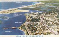 """<span class=""""caption-caption"""">Aerial View of the Gold Coast</span>, c1955. <br />Postcard by <span class=""""caption-publisher"""">Unknown Publisher</span>, collection of <span class=""""caption-contributor"""">John Young</span>."""