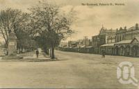 "<span class=""caption-caption"">The Boulevard, Palmerin Street, Warwick</span>, 1912. <br />Postcard by <span class=""caption-publisher"">Poulson & White</span>, collection of <span class=""caption-contributor"">John Young</span>."