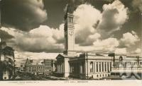 "<span class=""caption-caption"">City Hall, Brisbane</span>, 1935. <br />Postcard by <span class=""caption-publisher"">Southern Cross Series</span>, collection of <span class=""caption-contributor"">John Young</span>."