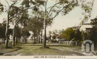 "<span class=""caption-caption"">Esplanade, Bribie Island</span>, c1935. <br />Postcard by <span class=""caption-publisher"">Murray Views Pty Ltd</span>, collection of <span class=""caption-contributor"">John Young</span>."