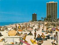 """<span class=""""caption-caption"""">Surfers Paradise Beach</span>, 1976. <br />Postcard by <span class=""""caption-publisher"""">Sandscene International</span>, collection of <span class=""""caption-contributor"""">Centre for the Government of Queensland</span>."""